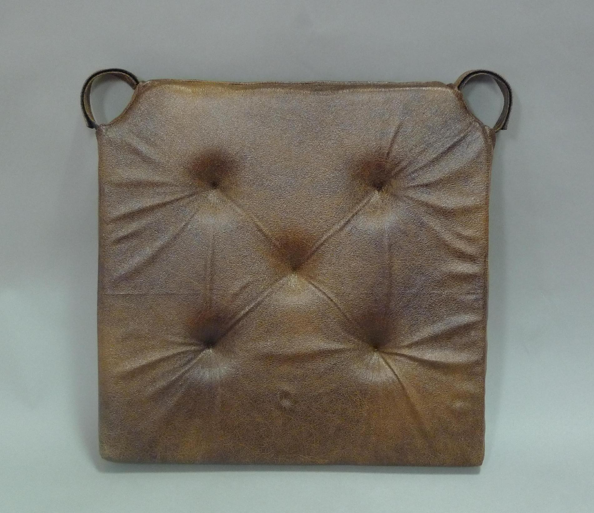 leather chair pads cover rentals oahu essential home look pad