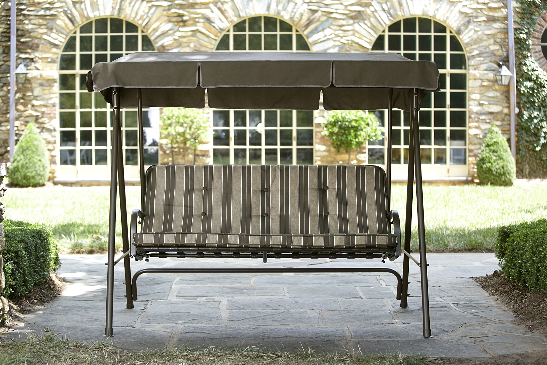 Swing With Canopy & Chair Costco Chaise Lounge