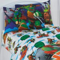 Teenage Mutant Ninja Turtles Twin Bed Sheet Set Bedding ...