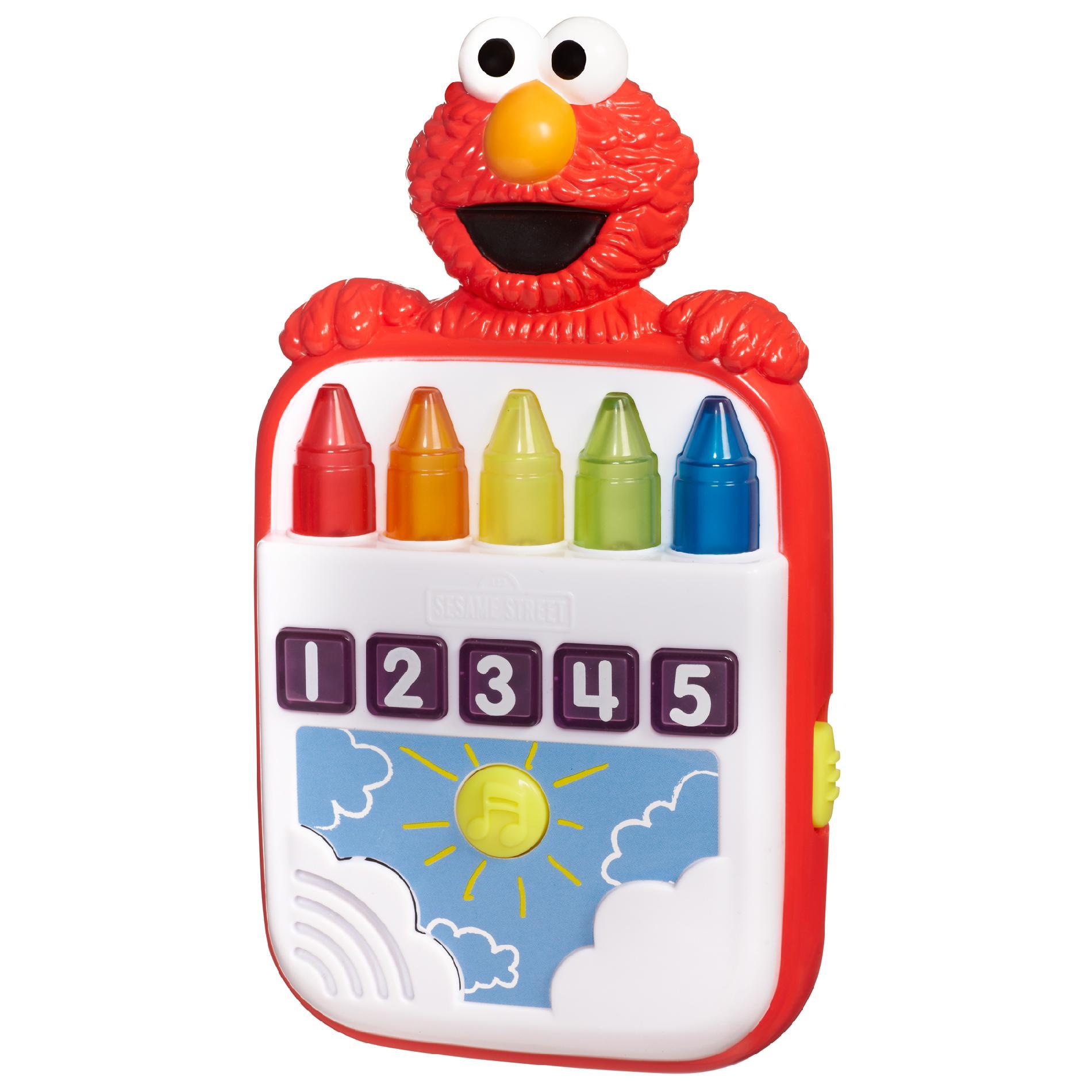 PLAYSKOOL SESAME STREET STEPS TO SCHOOL Elmos Count Along