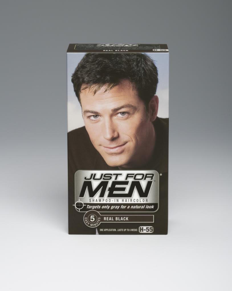 men shampoo-in haircolor