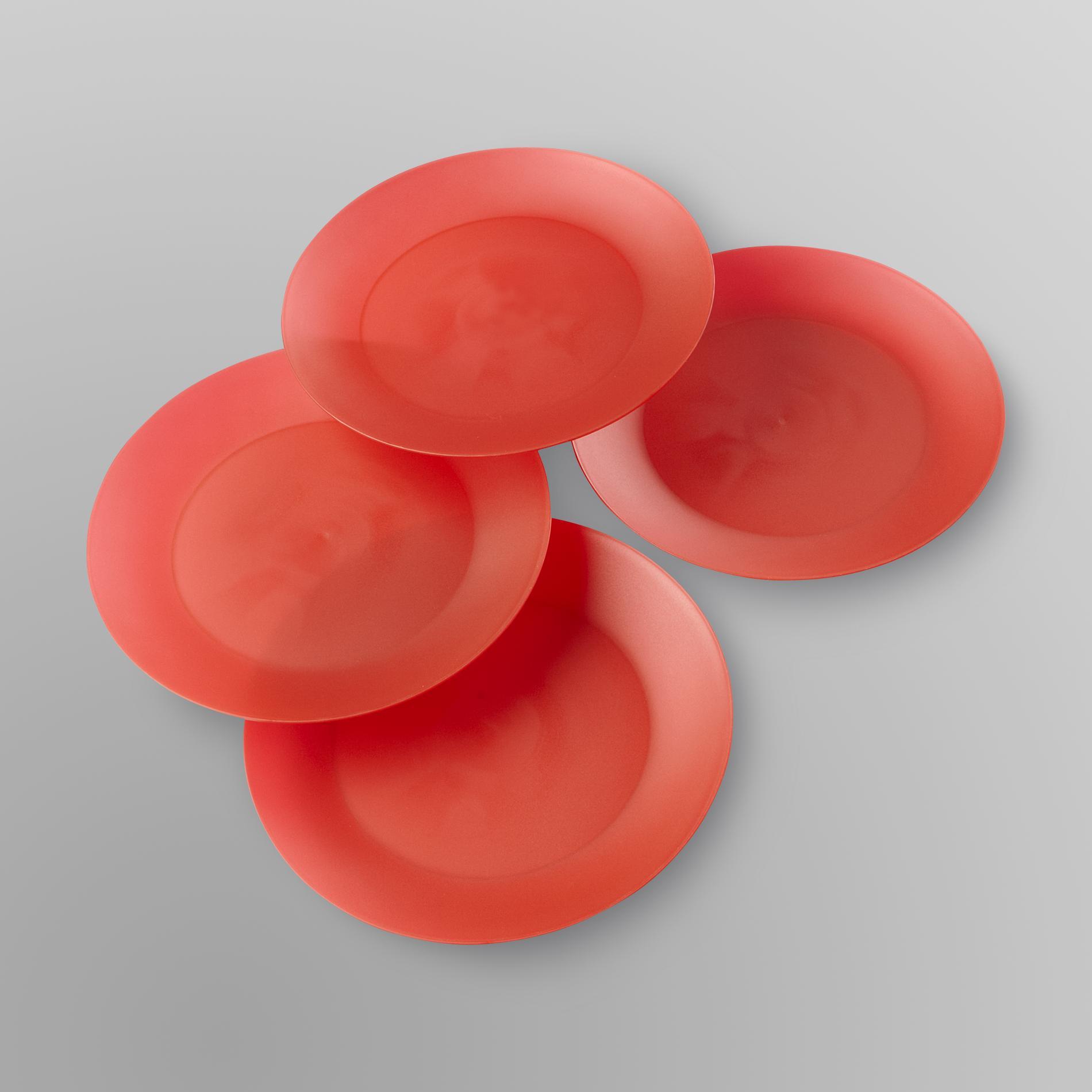 Essential Home Indoor/Outdoor Plastic Plates