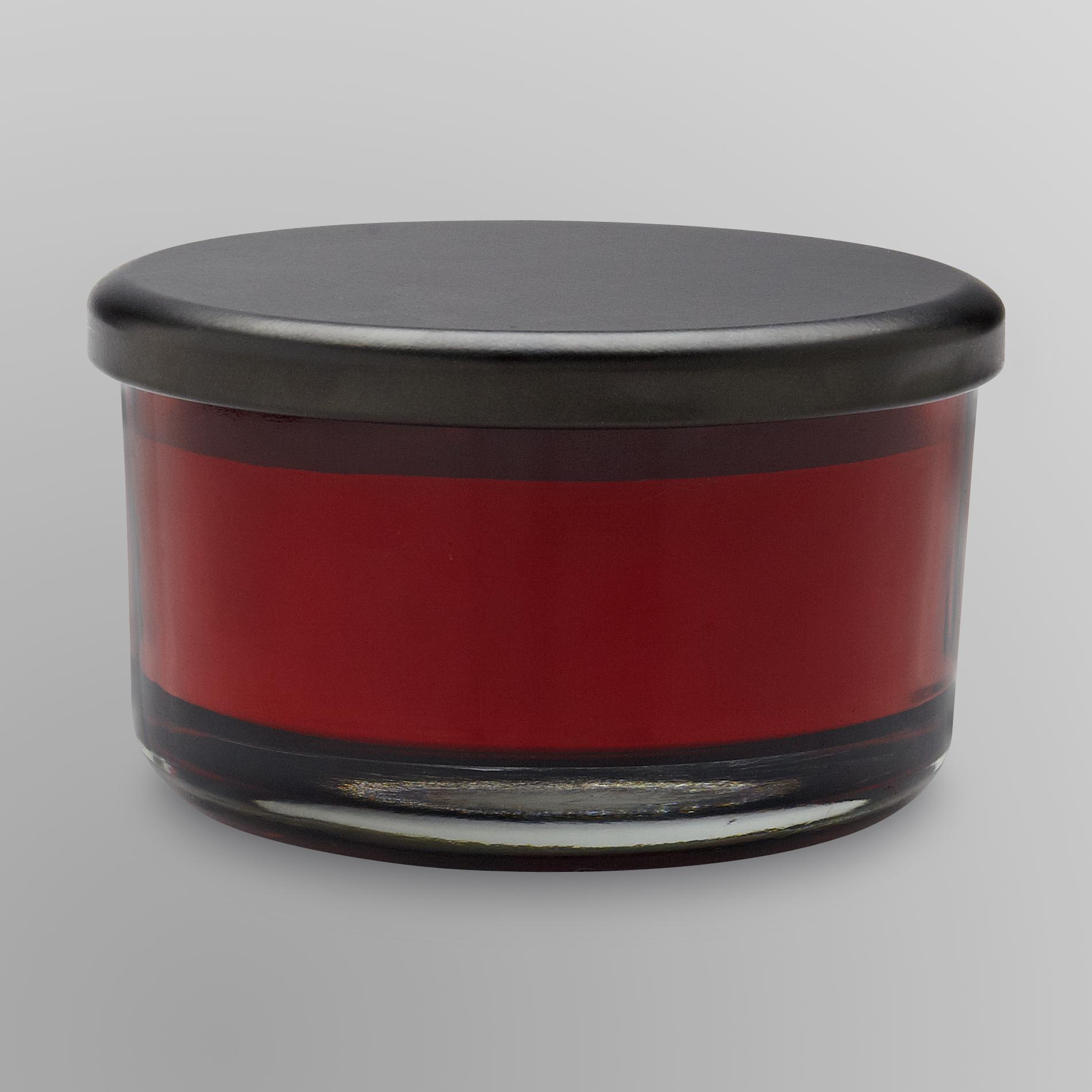 Sandra by Sandra Lee 3Wick Jar Candle Cinnamon Apple