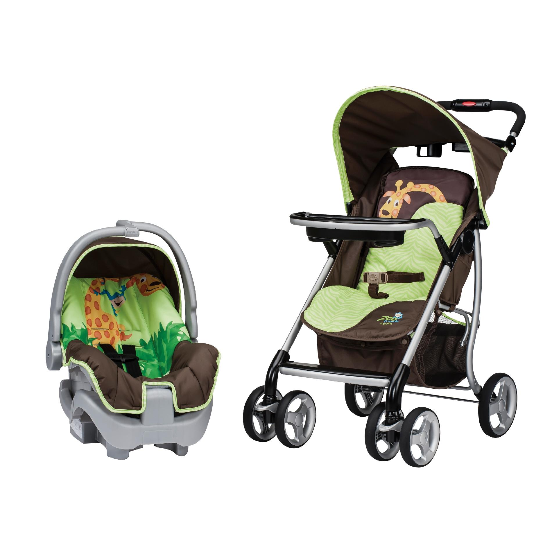 Evenflo Stroller  Infant Car Seat Travel System  Zoo