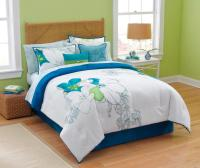 Jaclyn Smith Abstract Floral Comforter Set