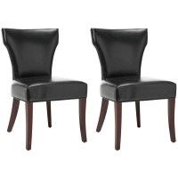 Black Leather Dining Chair | Kmart.com
