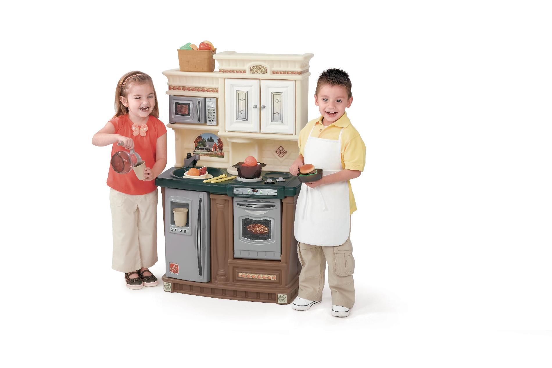 step2 lifestyle custom kitchen ii track lighting for island step 2 new traditions toys and games