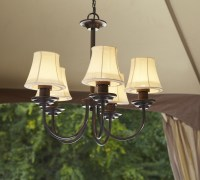 Outdoor Electric Chandelier: Classic Outdoor Living with Sears