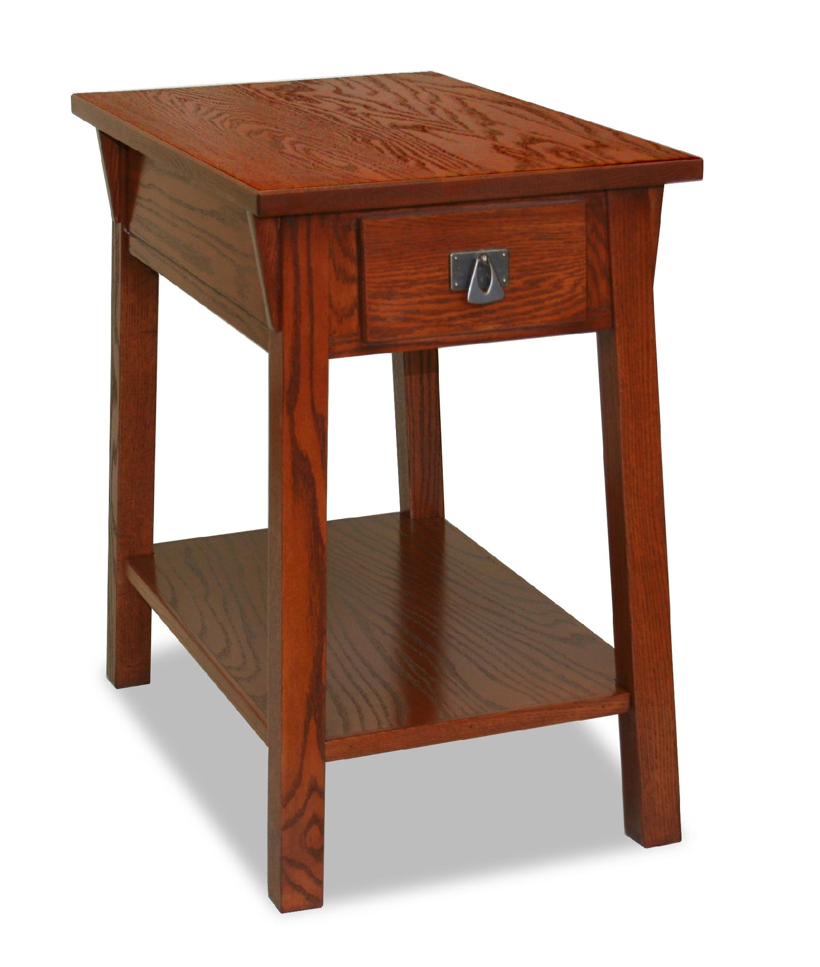 chair side end table indoor swing for bedroom leick bin pull narrow chairside candleglow
