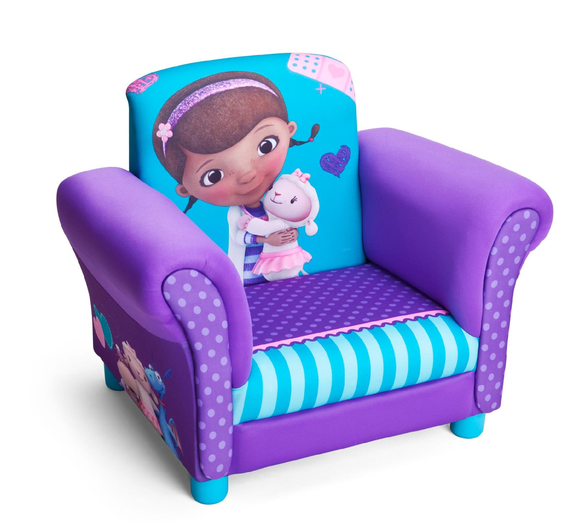 Toddler Chairs Upholstered Delta Children Doc Mcstuffins Upholstered Chair