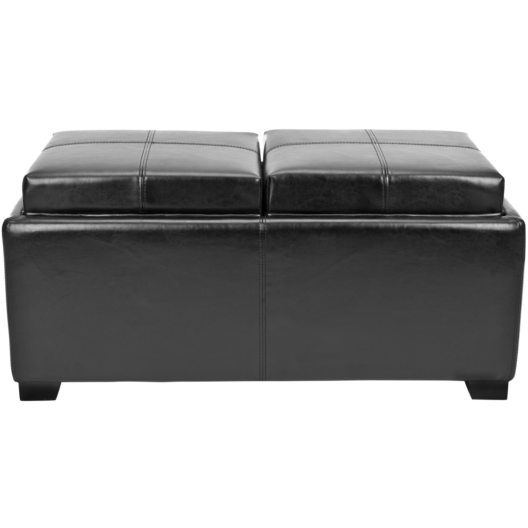Double Chair With Ottoman Safavieh Hudson Collection Harrison Double Tray Ottoman