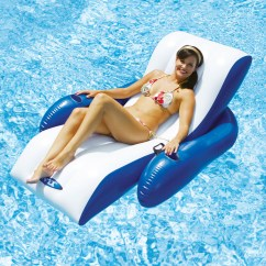 Pool Floating Lounge Chair Browning Strutter Intex Recliner Toys And Games Swimming