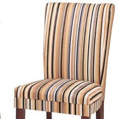Striped Dining Chair Chiavari Covers For Weddings Oxford Creek Upholstered Set Of 2 Multi 4