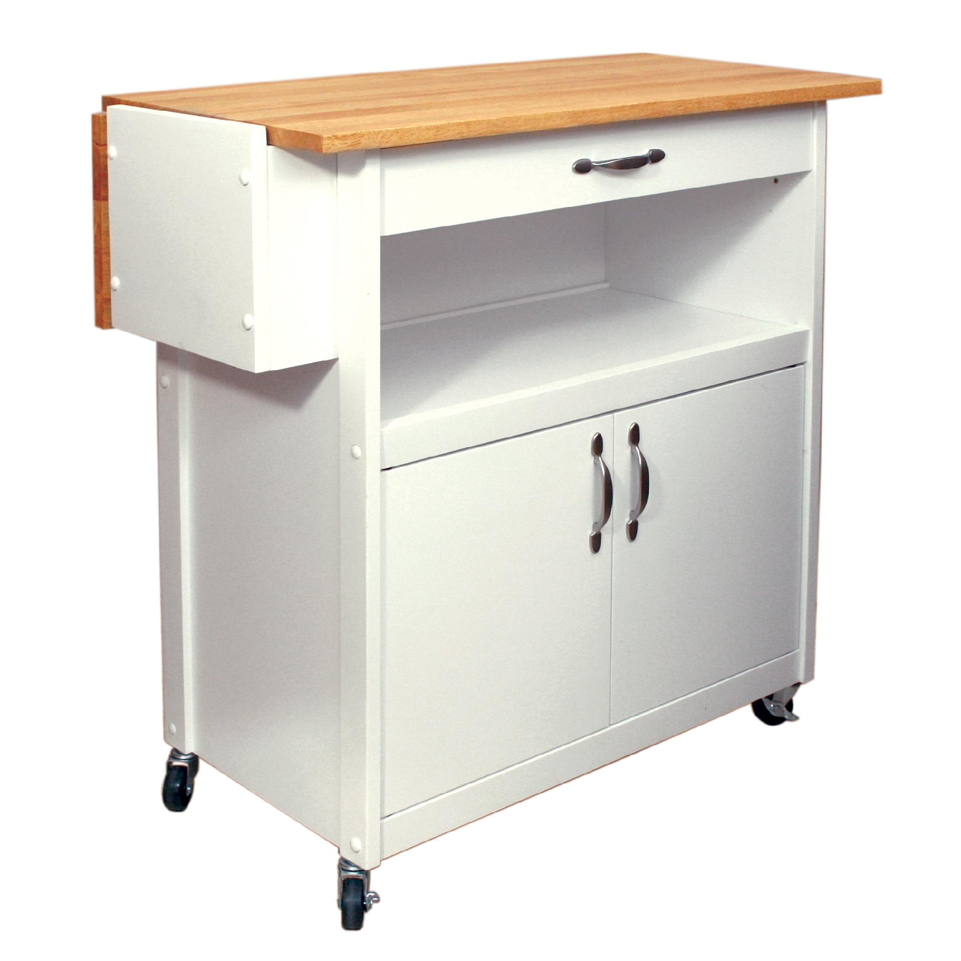 kitchen island with drop leaf clearance shelves catskill utility cart