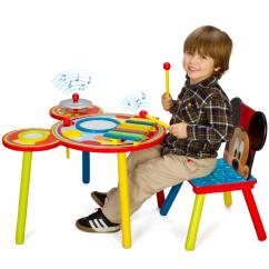 Baseball Desk Chair Chairs For Bedrooms Cheap Mickey Mouse Musical Table And Set