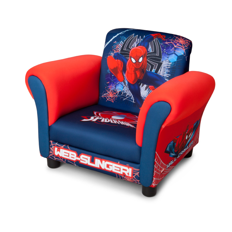 Delta Children Marvel Spiderman upholstered chair