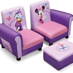 Minni Mouse Chair Yellow Covers Delta Children Disney Sofia The First Upholstered