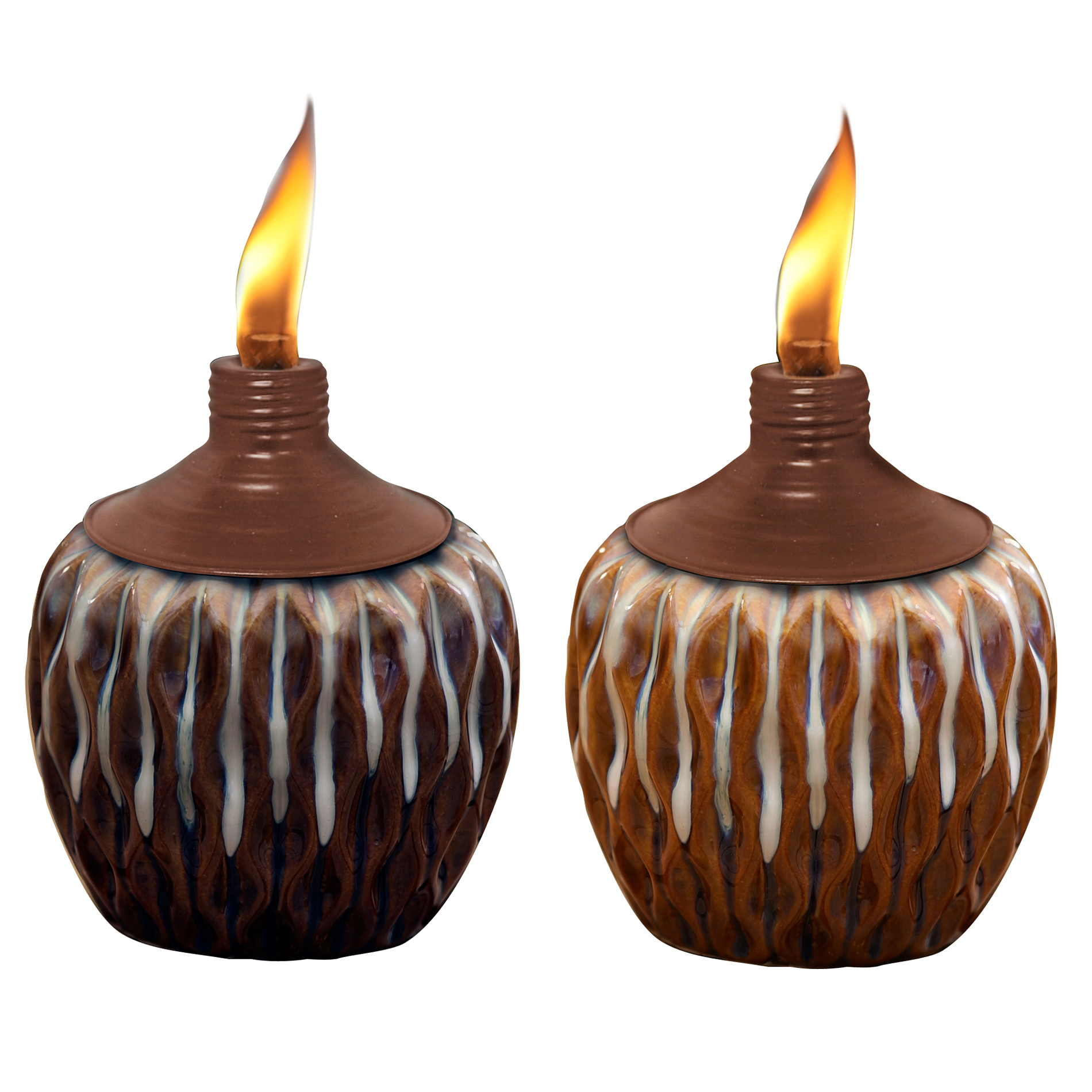 Tiki 2-color Tabletop Torch Assortment