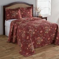 Colormate Bedspread and Shams - Floral Print - Home - Bed ...