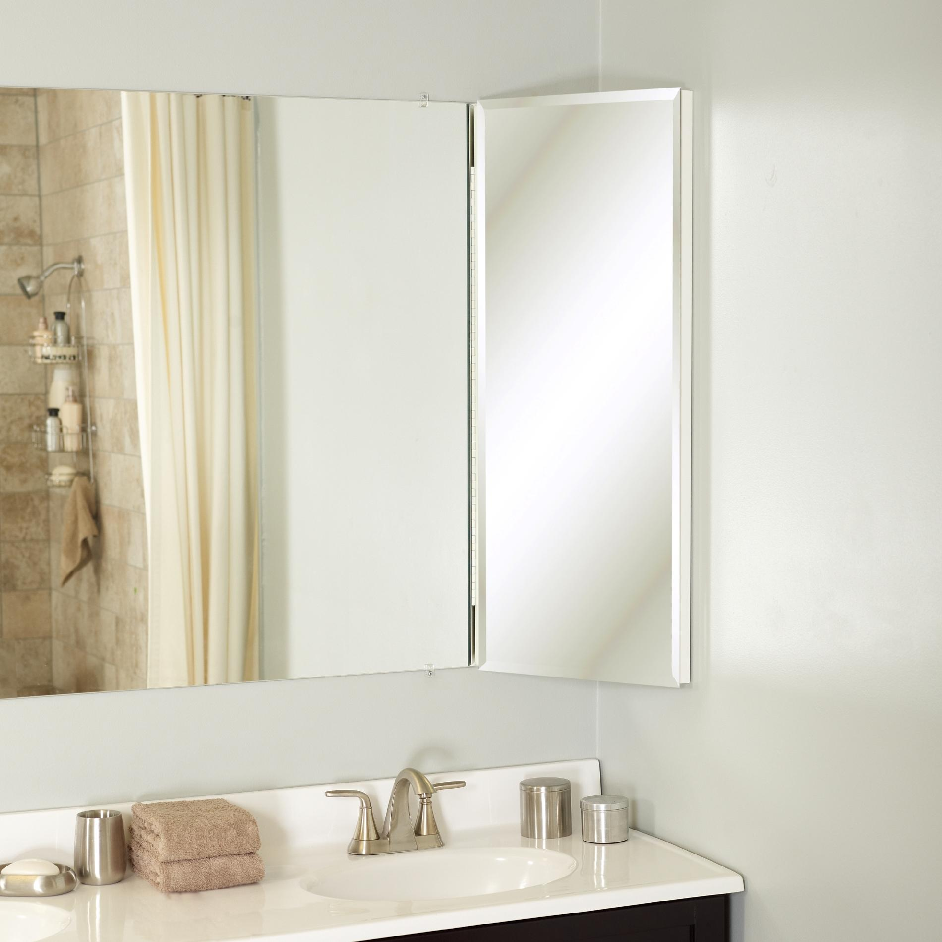 Zenith Products Over the Mirror Corner Cabinet 14 x 36