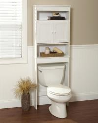Zenith Products Country Cottage Spacesaver White 3 Shelves ...