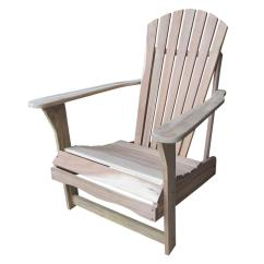 Unfinished Adirondack Chair Commercial Rail International Concepts Outdoor