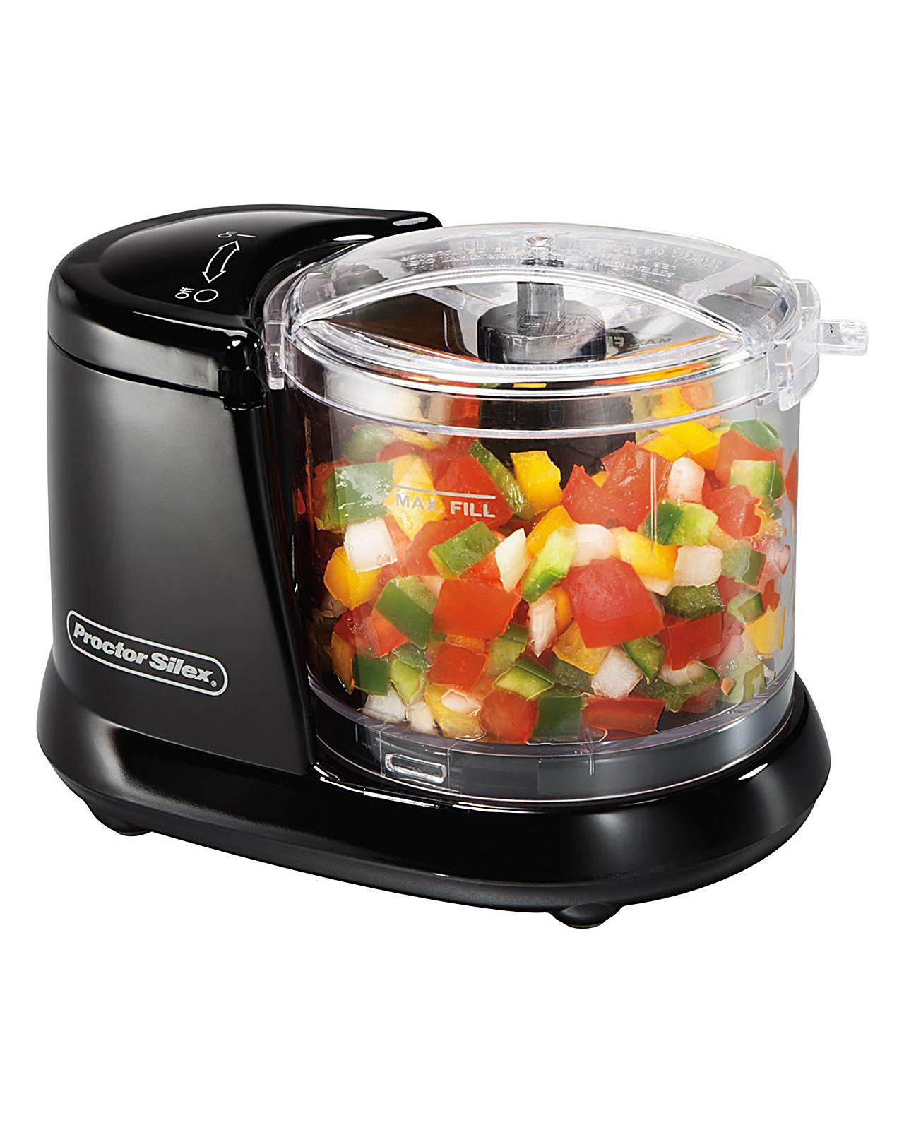 Proctor Silex 1.5 Cup Food Chopper - Appliances Small Kitchen Processors
