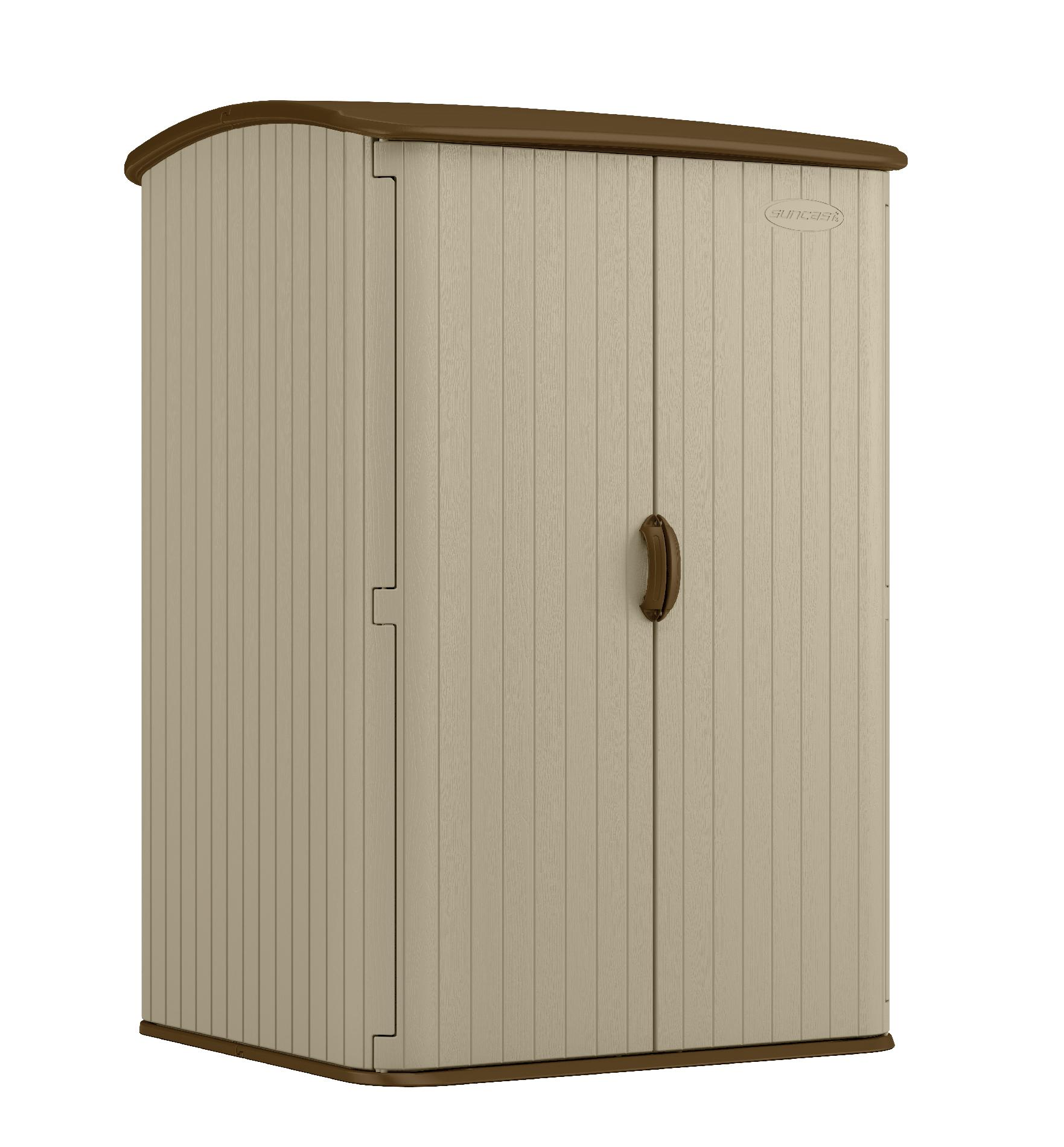 Suncast 98 Cuft Storage Shed Lawn Amp Garden Sheds