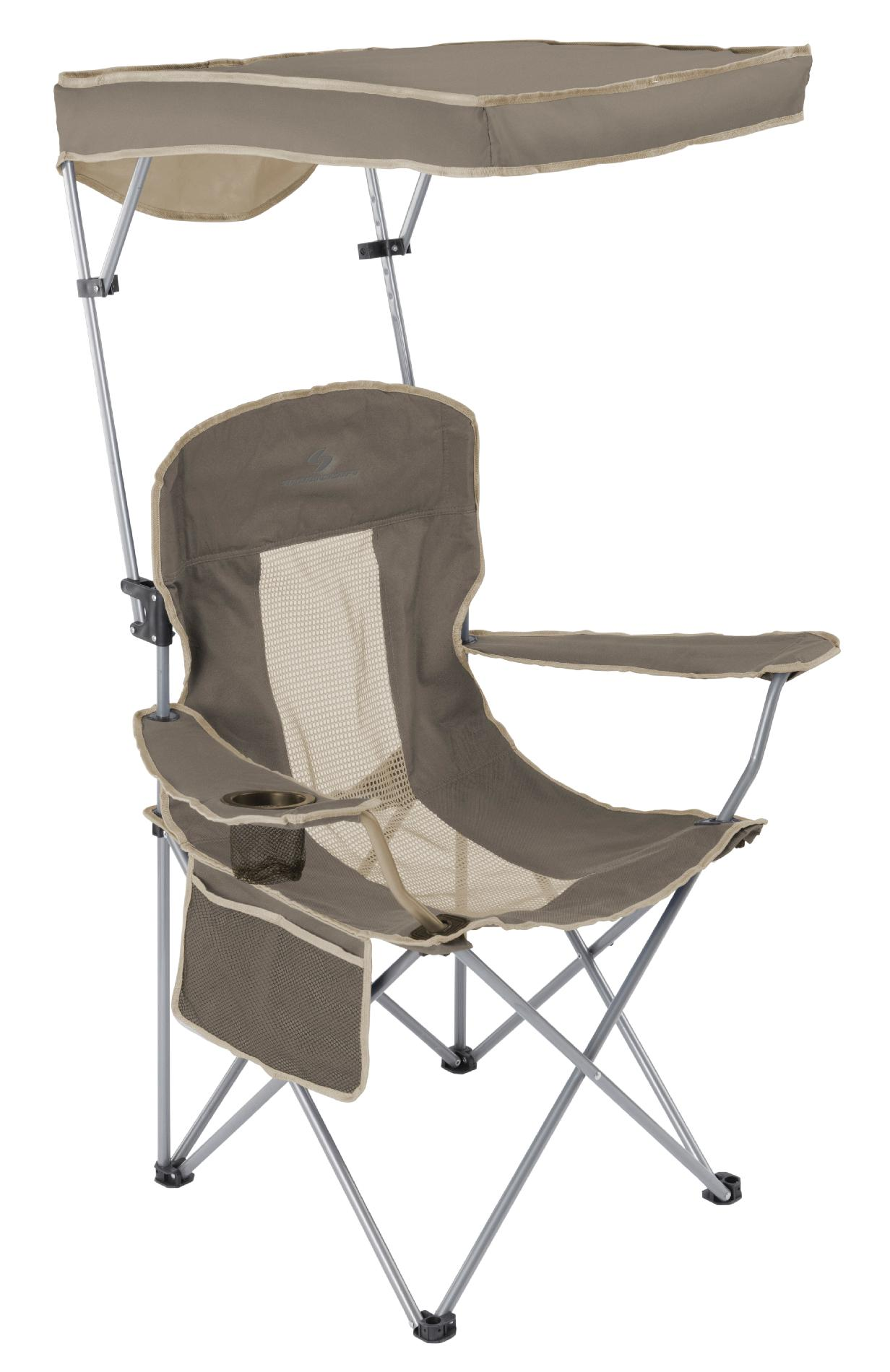 Camping Chair With Canopy Sportcraft Cooler Quad Chair With Canopy