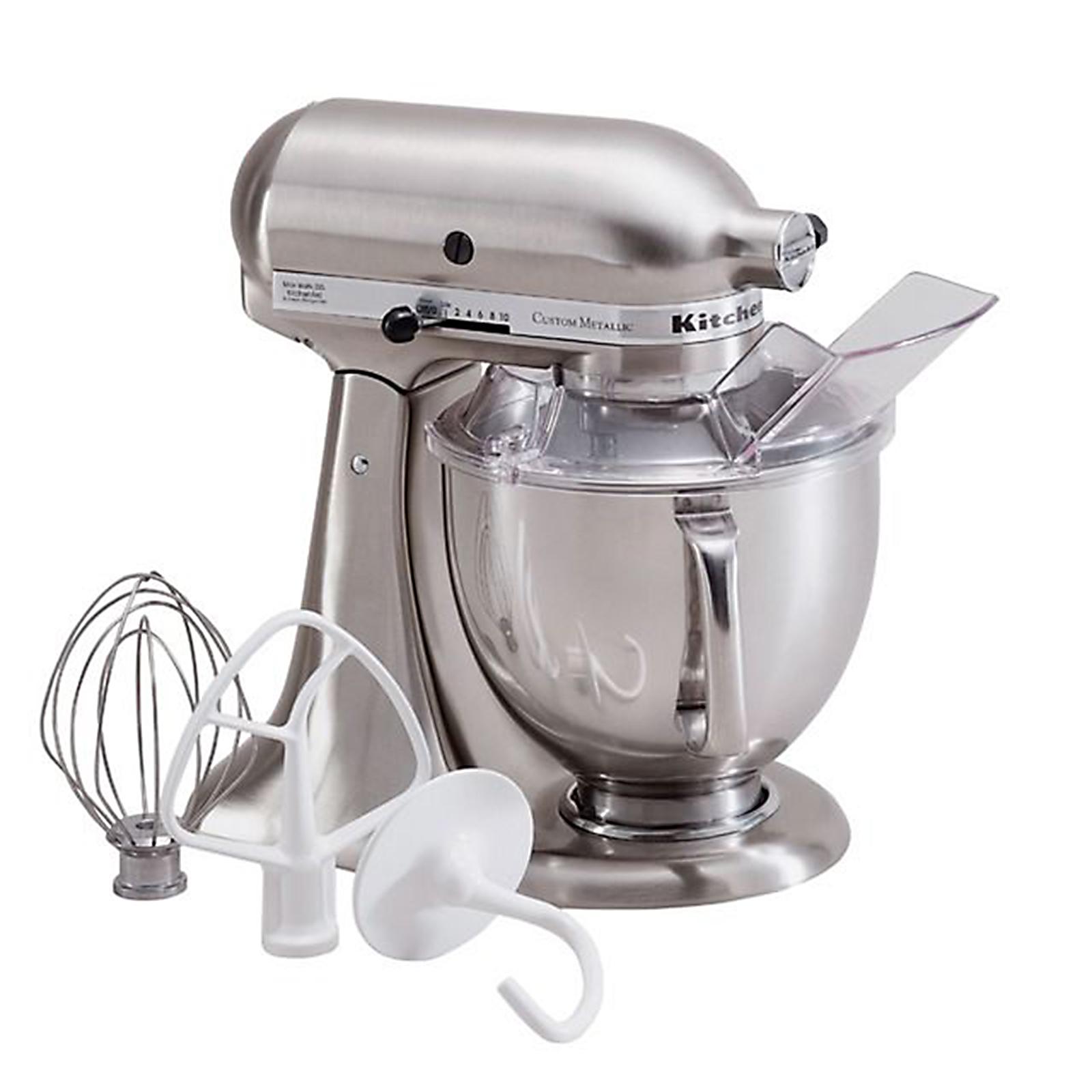 kitchen aid mixers on sale ikea counters kitchenaid custom metallic series 5 quart stand mixer
