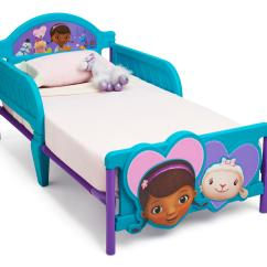 Doc Mcstuffins Chair Smyths Dining Room Chairs With Leather Seats Delta Children 3d Toddler Bed Baby