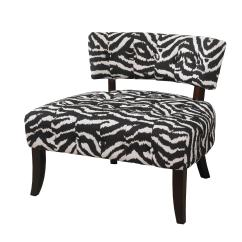 Animal Print Accent Chairs Ashley Furniture Office L Powell Quotlady Slipper Quot Zebra Chair Home