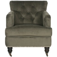 Safavieh Colin Tufted Club Chair Patio Cusions Hudson Home Furniture Living