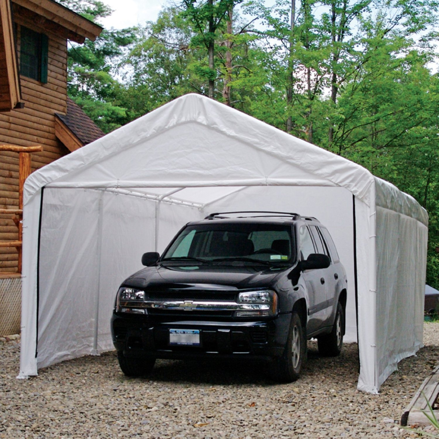 Shelterlogic 10 Ft. X 20 Enclosure Kit - White Canopy