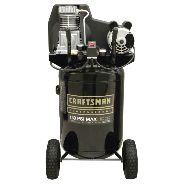 Craftsman 27 Gal. Oil-lubricated Vertical Air Compressor