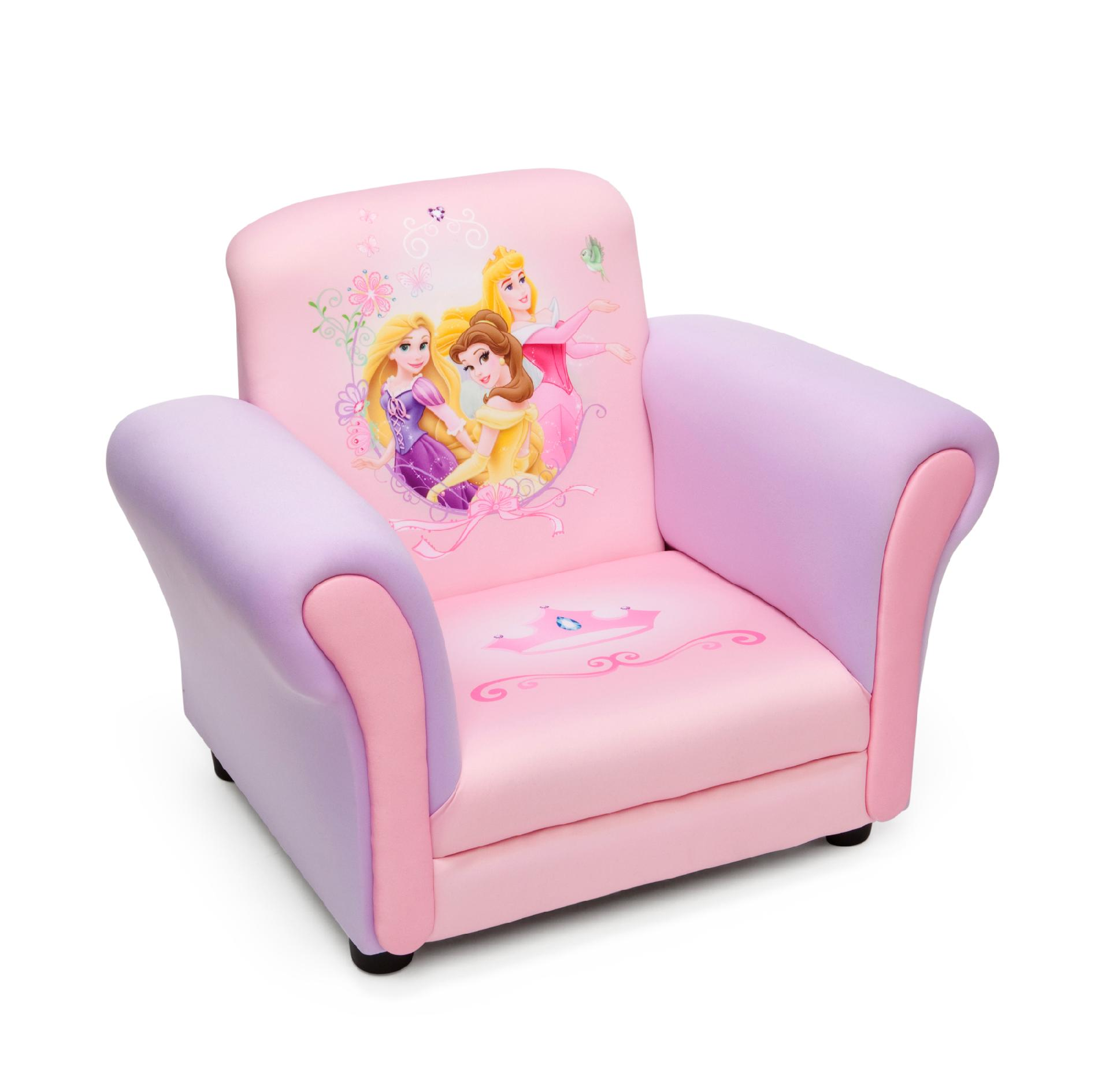 princess chairs for toddlers turquoise metal chair delta children disney kids club baby