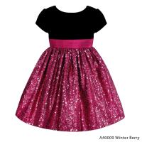 American Princess Girl's Sequins Party Dress