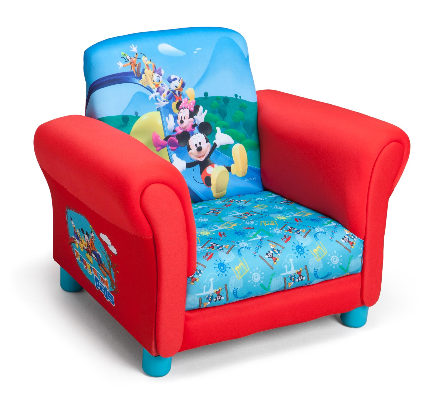 Upholstered Toddler Chair Delta Children Tc85692mm Kids Club Upholstered Chair