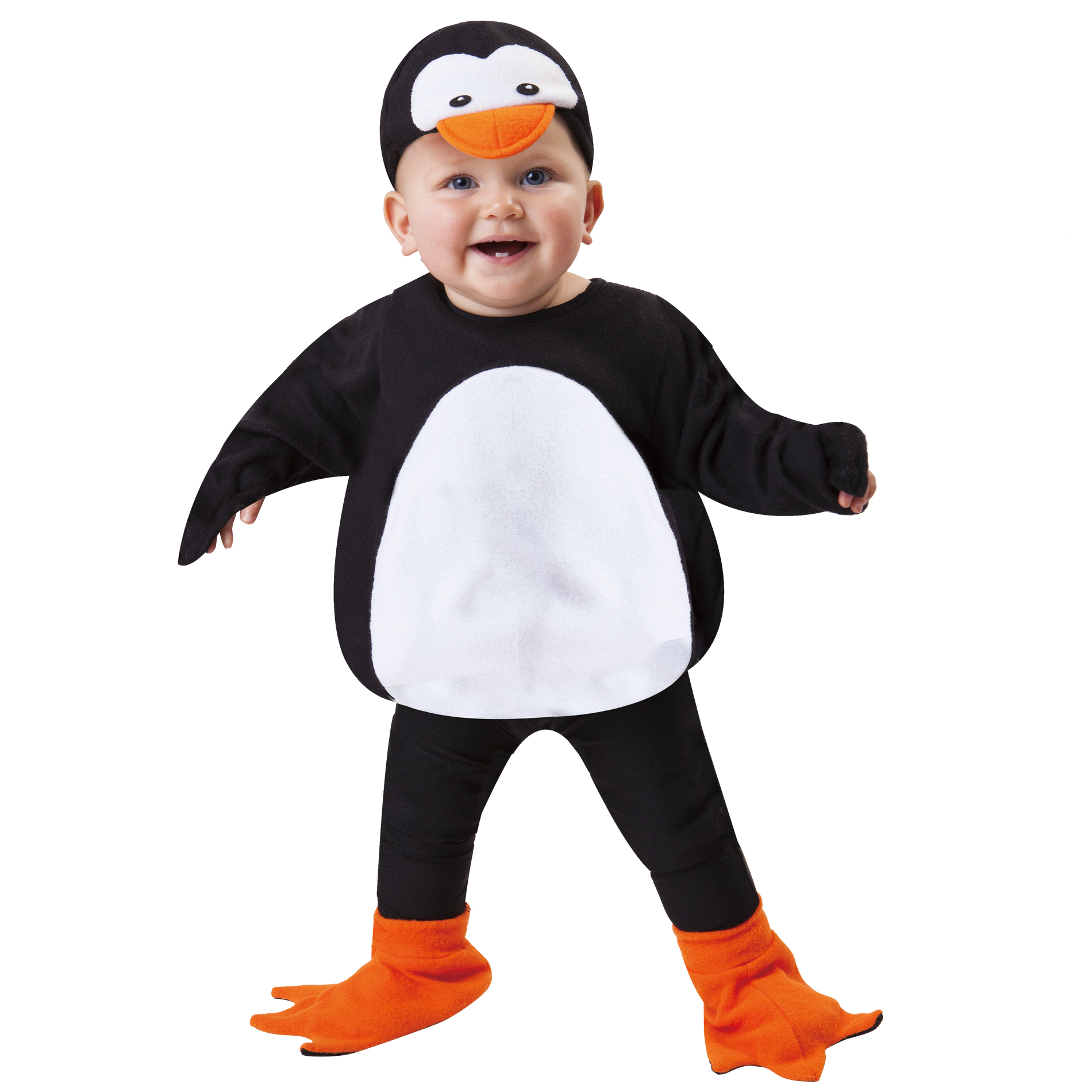 Totally Ghoul Penguin Vest Infant Halloween Costume Size