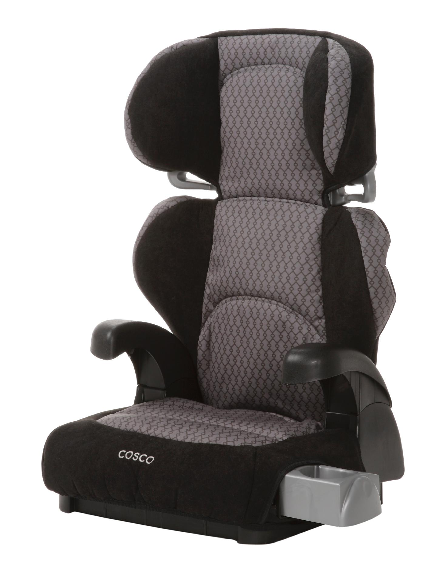 cosco baby chair jungalow hanging pronto booster car seat linked black