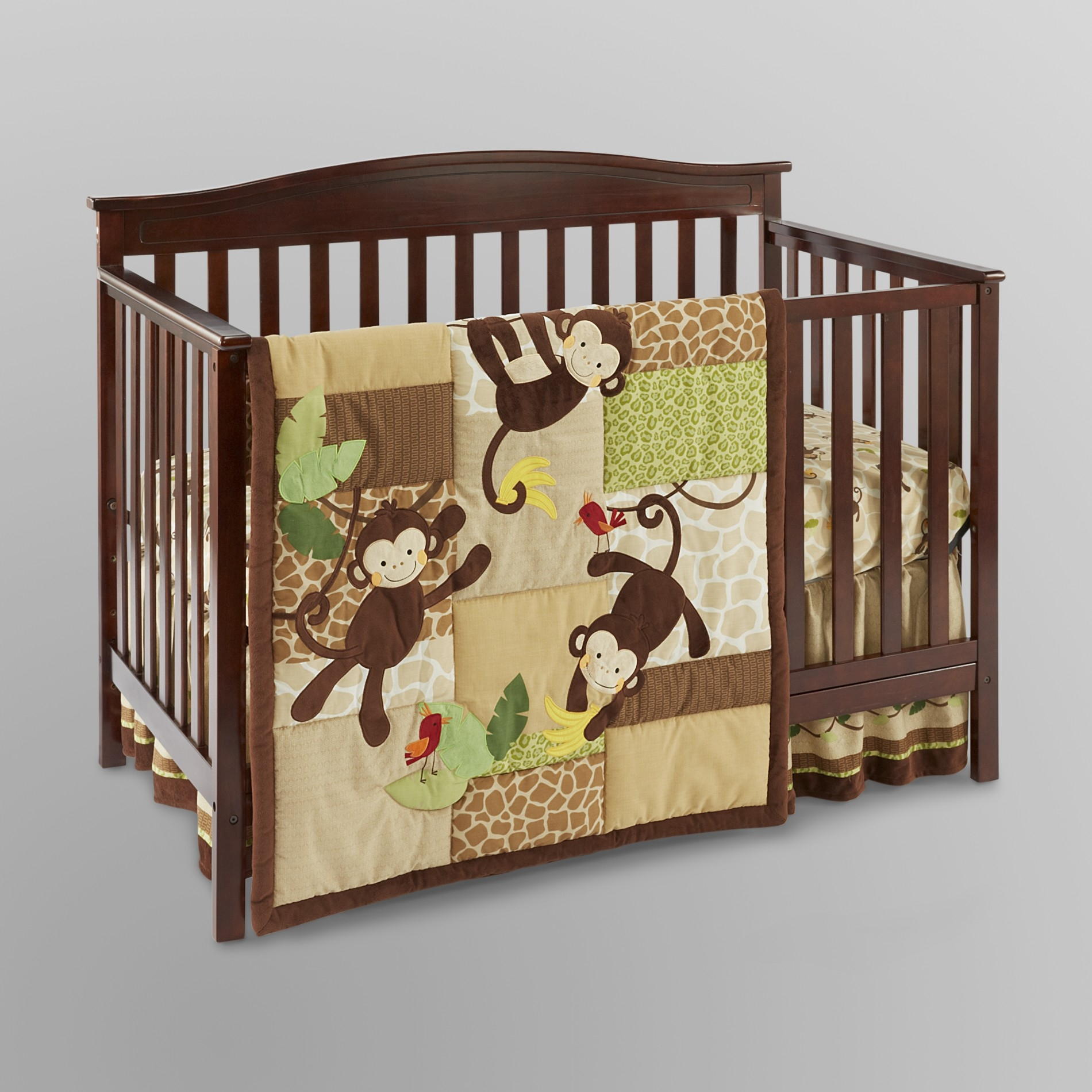 Lambs & Ivy Tickles 3pc Crib Set - Baby Bedding