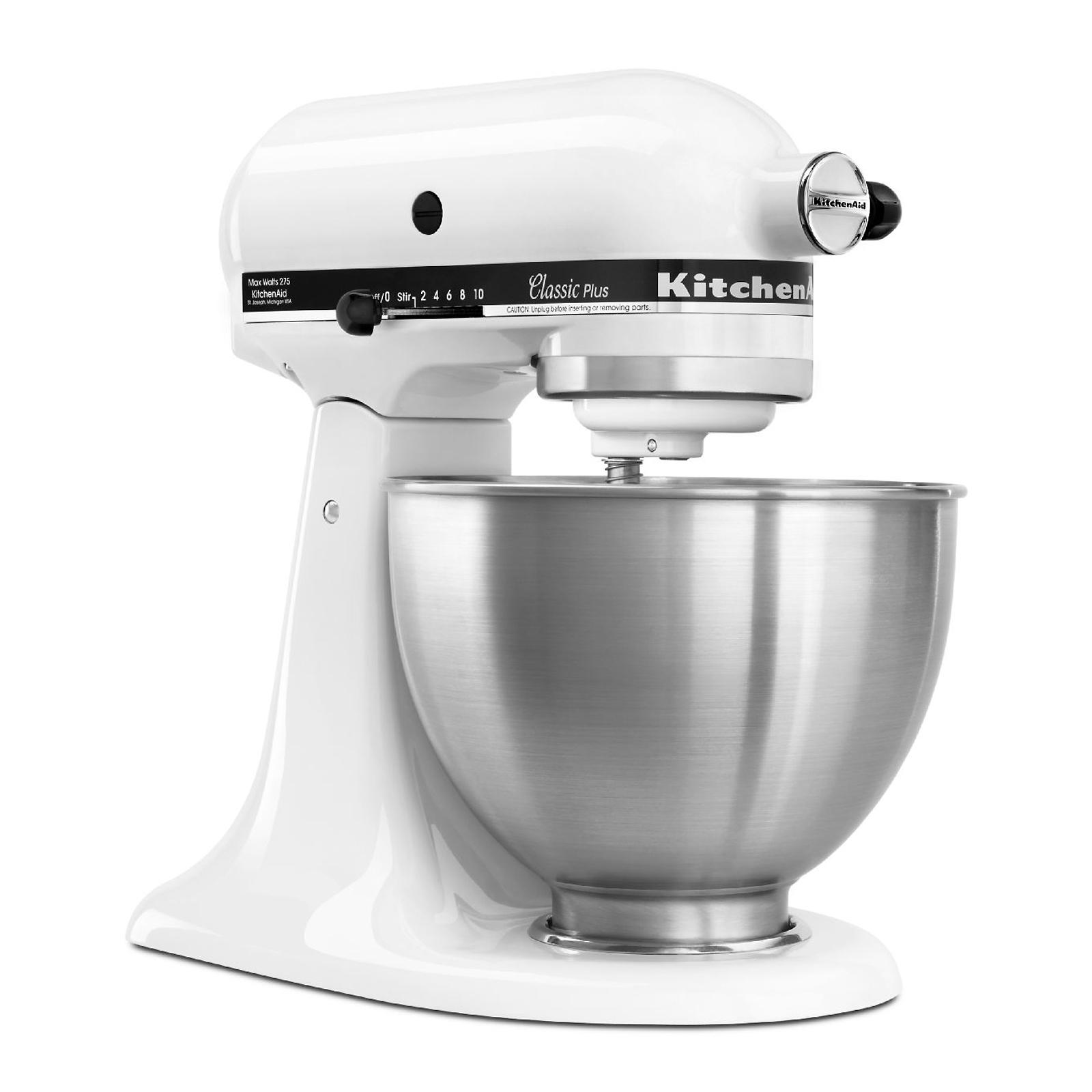 kitchen aid mixer parts backsplash options kitchenaid ksm75wh classic plus 4 5 quart stand