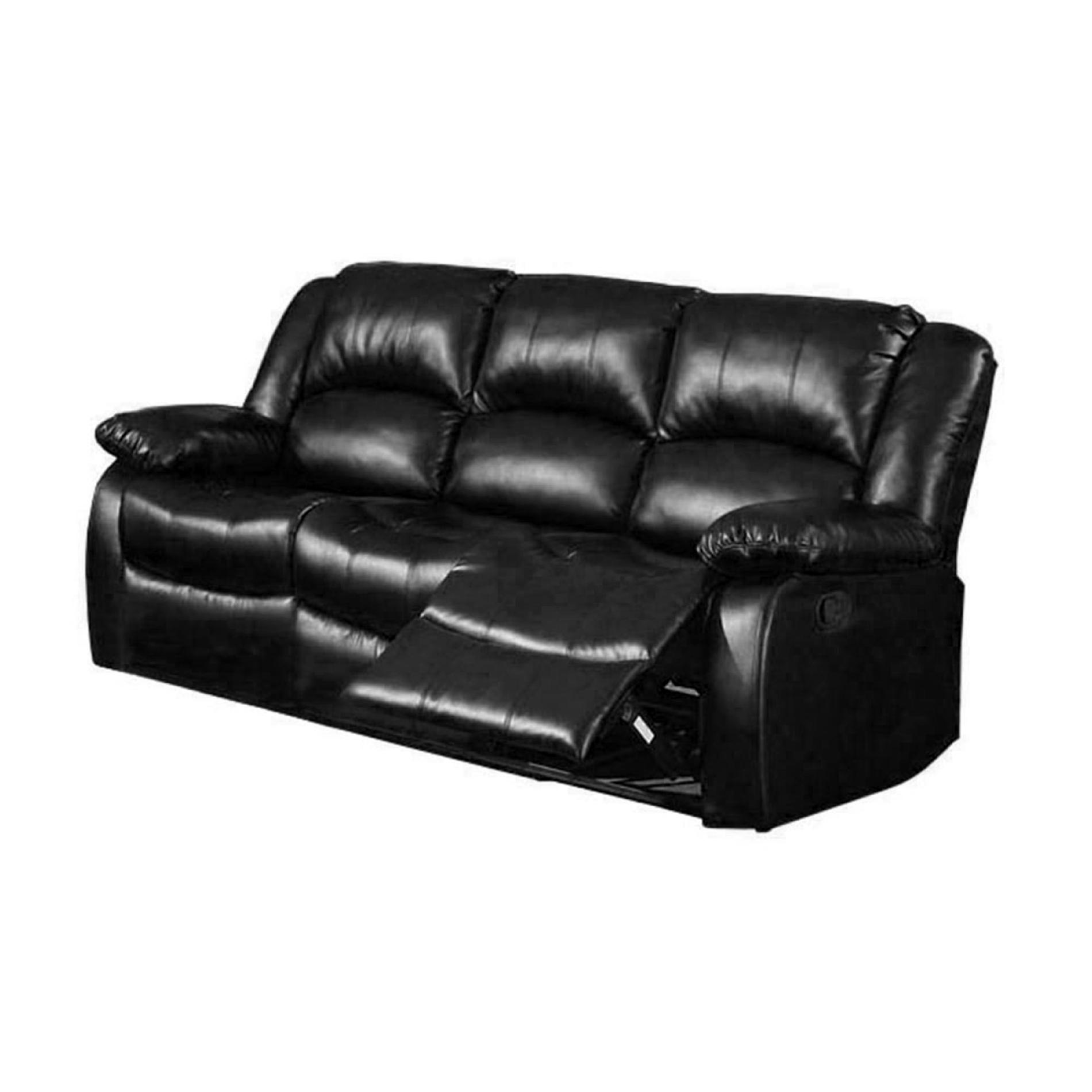 angus bonded leather reclining sofa galaxy sectional venetian worldwide cm6556 s winslow