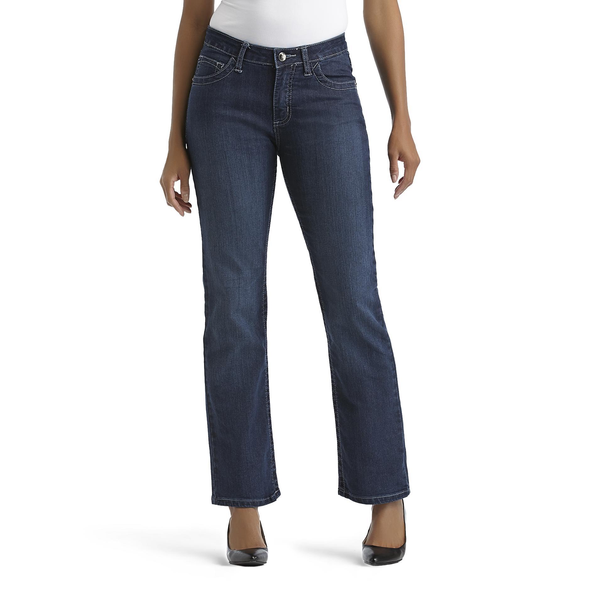 Lee Women' Curvy Straight Leg Jeans