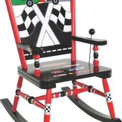 Race Car Chair Officeworks Folding Bowl 43 Levels Of Discovery Rab00028 Rocker Kids