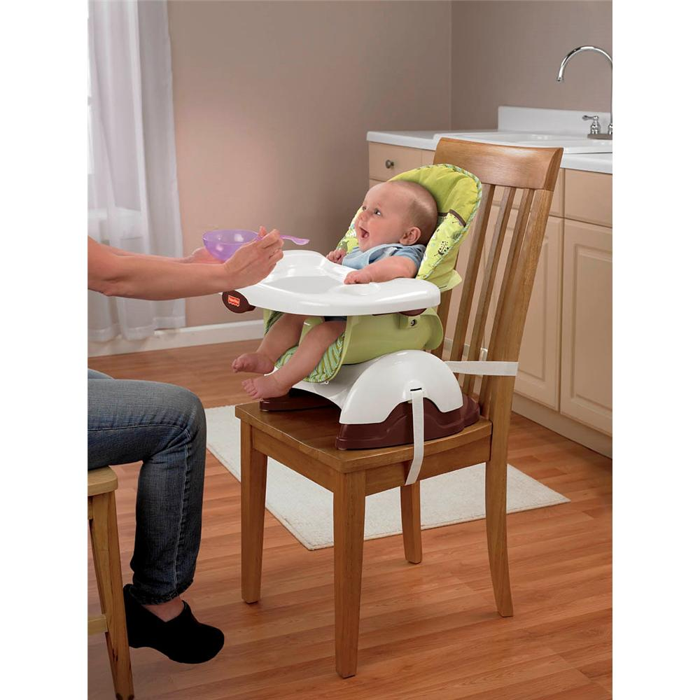 dining chair booster seat kmart overstock rocking fisher-price space saver high - scatterbug