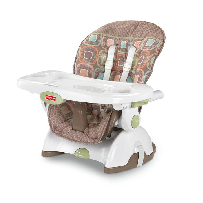 space saving high chair replacement captains chairs for boats fisher price saver coco sorbet