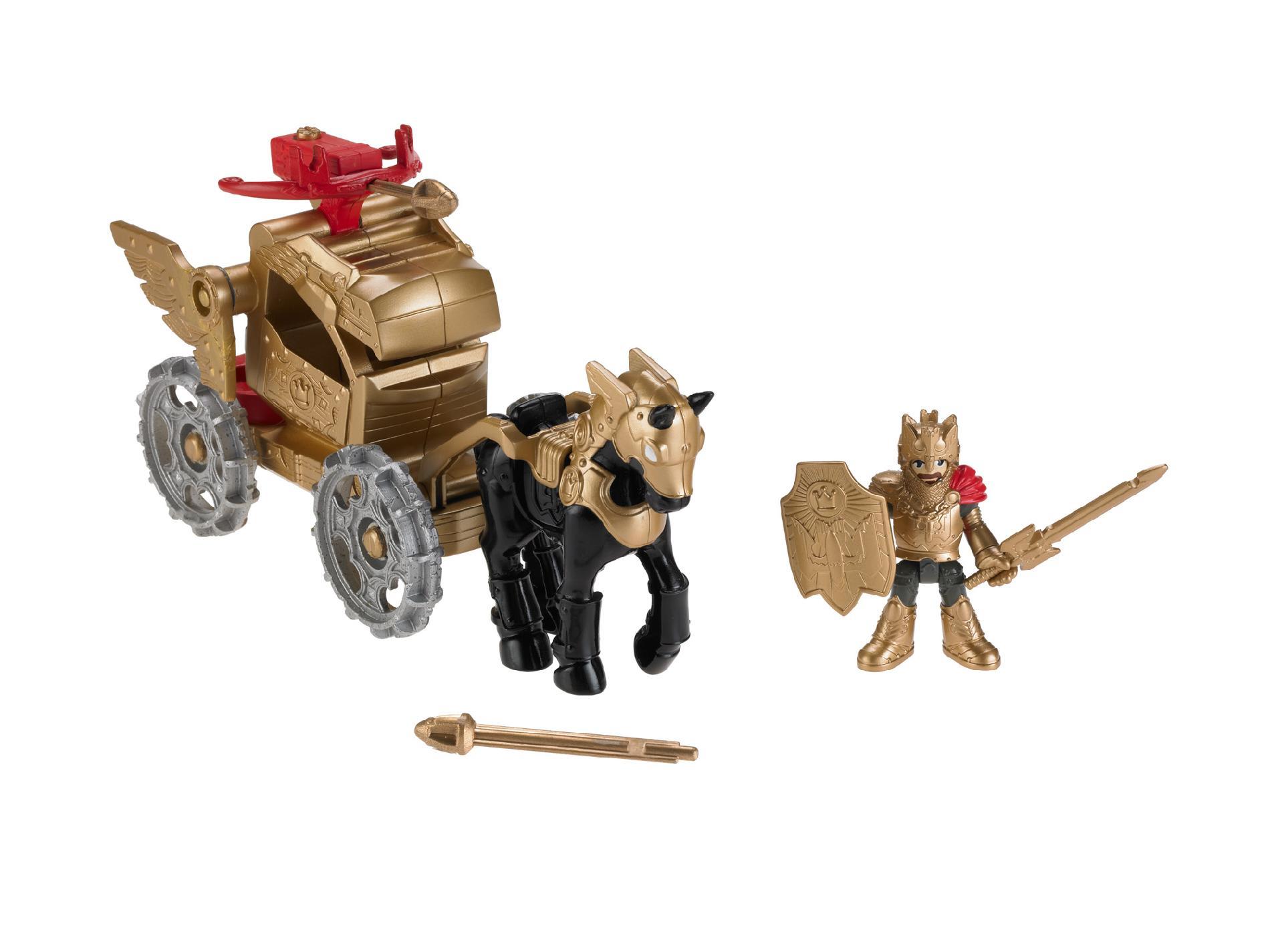 Imaginext Castle Royal Coach Fisher - Toys