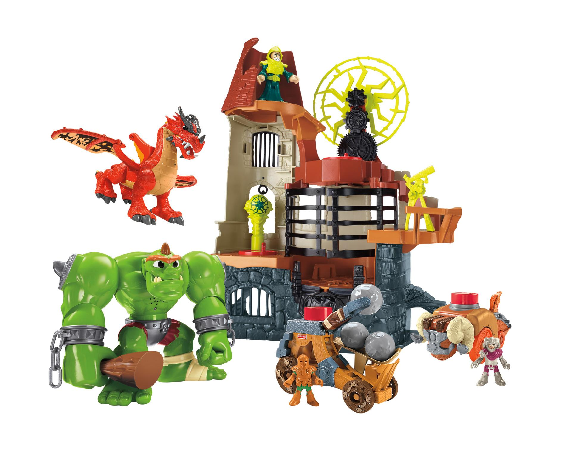 Imaginext Castle Wizard Tower Fisher