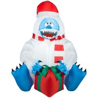 Abominable Snowman Outdoor Christmas Decorations ...